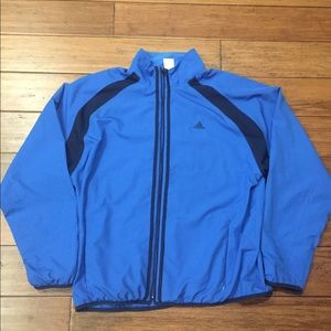 Men's Adidas Blue Track Jacket